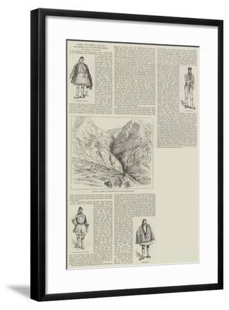 Notes of Greek Travel, Delphi and its Neighbourhood--Framed Giclee Print