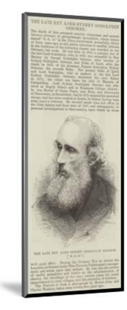 The Late Reverend Lord Sydney Godolphin Osborne (SGO)--Mounted Giclee Print