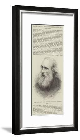 The Late Reverend Lord Sydney Godolphin Osborne (SGO)--Framed Giclee Print