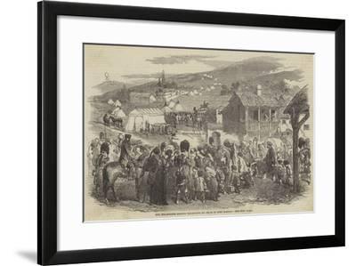 The Inhabitants Leaving Balaclava, by Order of Lord Raglan--Framed Giclee Print