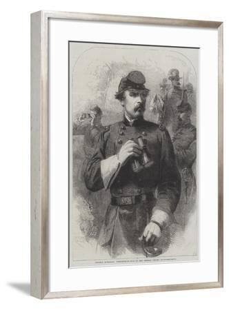 General M'Clellan, Commander-In-Chief of the Federal Forces--Framed Giclee Print