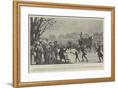 Extraordinary Exploit, a Reminiscence of a Famous Frost--Framed Giclee Print