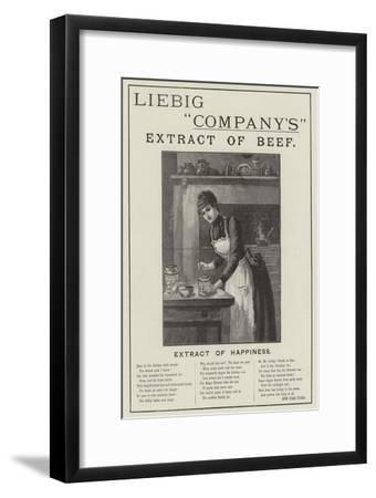 Advertisement, Liebig Company's Extract of Beef--Framed Giclee Print