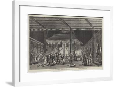 Moorshedabad Emaumbarrif, During the Mohurrum--Framed Giclee Print