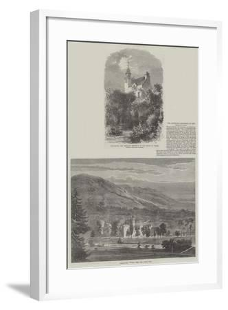 The Highland Residence of the Prince of Wales--Framed Giclee Print