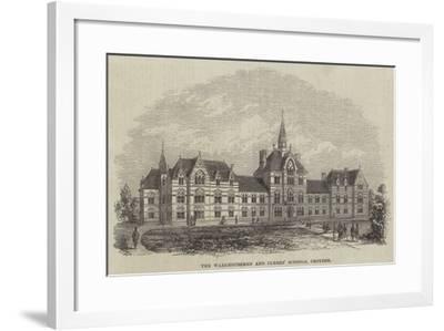 The Warehousemen and Clerks' Schools, Croydon--Framed Giclee Print