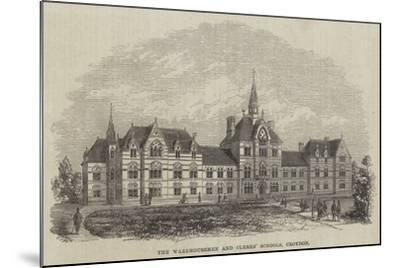 The Warehousemen and Clerks' Schools, Croydon--Mounted Giclee Print