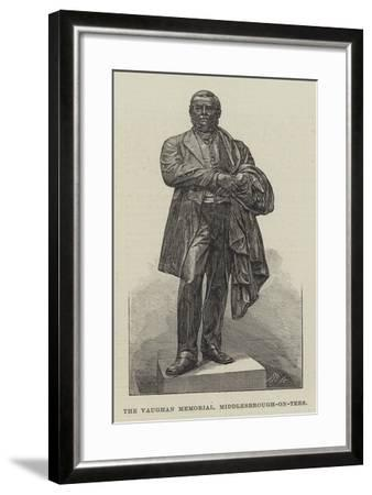 The Vaughan Memorial, Middlesbrough-On-Tees--Framed Giclee Print