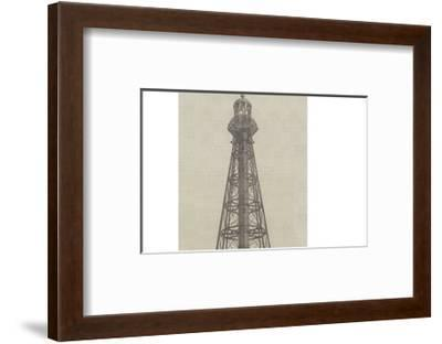 Iron Lighthouse for the Mouths of the River Ebro--Framed Giclee Print