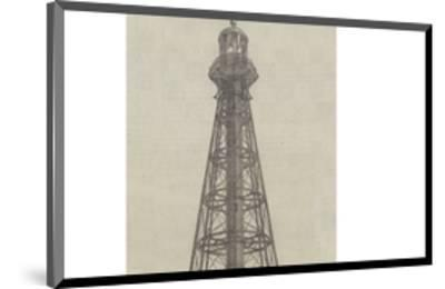 Iron Lighthouse for the Mouths of the River Ebro--Mounted Giclee Print