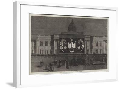 The Peace Illuminations, the National Gallery--Framed Giclee Print