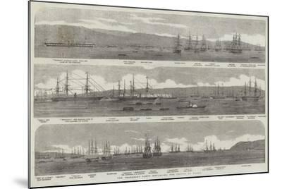 The Transport Fleet Embarking the Troops, at Varna--Mounted Giclee Print