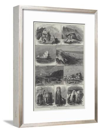 Rambling Sketches, Lowestoft and its Neighbourhood--Framed Giclee Print