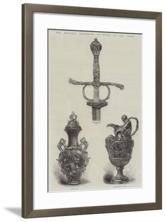 The National Exhibition of Works of Art, Leeds--Framed Giclee Print