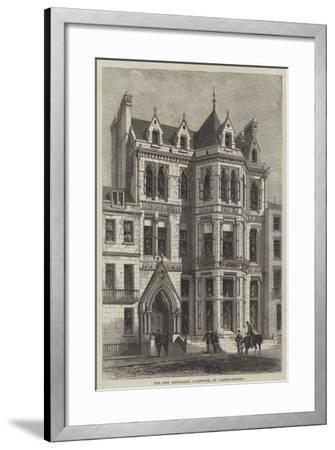 The New University Clubhouse, St James's-Street--Framed Giclee Print