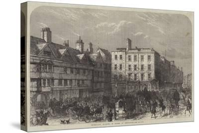 Middle-Row, Holborn, in Course of Demolition--Stretched Canvas Print