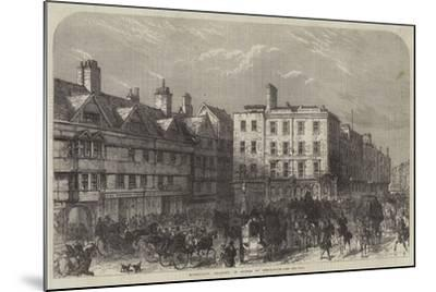 Middle-Row, Holborn, in Course of Demolition--Mounted Giclee Print