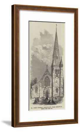 St John's Church, Horninglow, Near Burton-On-Trent--Framed Giclee Print