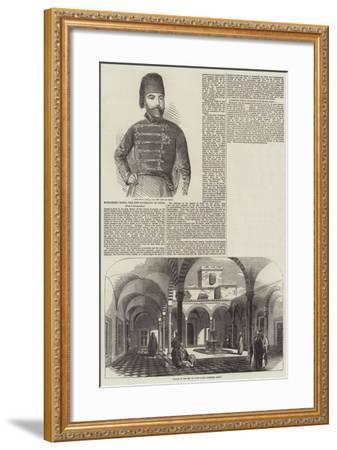 Mohammed Basha, the New Sovereign of Tunis--Framed Giclee Print