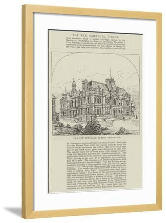 The New Townhall, Buxton, Derbyshire--Framed Giclee Print