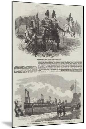 Persian Soldiers in the Russian Service--Mounted Giclee Print