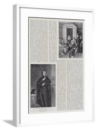The Life of William Ewart Gladstone--Framed Giclee Print