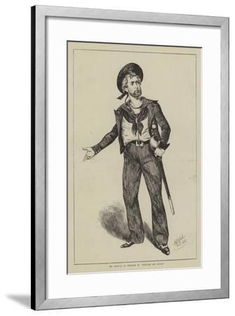 Mr Kendal as William in William and Susan--Framed Giclee Print
