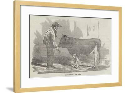 The Agricultural Exhibition of France--Framed Giclee Print