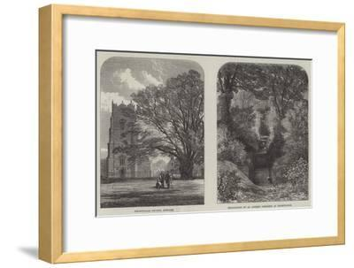 Antiquarian Researches at Helmingham--Framed Giclee Print