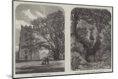 Antiquarian Researches at Helmingham--Mounted Giclee Print