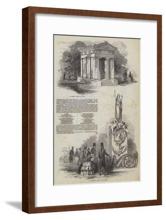 All Souls' Cemetery in Kensall Green--Framed Giclee Print