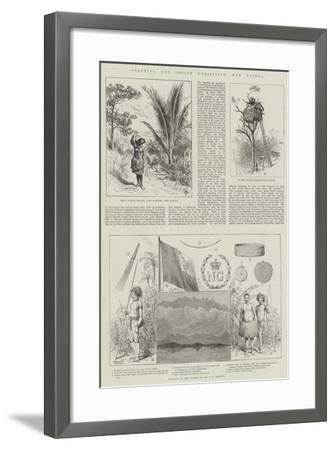 Colonial and Indian Exhibition, New Guinea--Framed Giclee Print