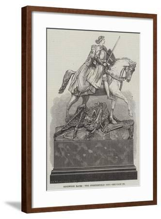 Goodwood Races, the Chesterfield Cup--Framed Giclee Print