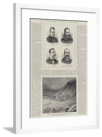 The Latest Stages of Arctic Exploration--Framed Giclee Print