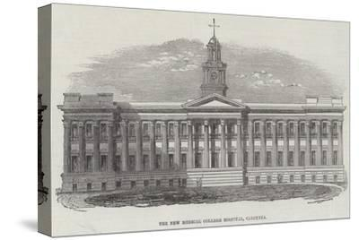 The New Medical College Hospital, Calcutta--Stretched Canvas Print