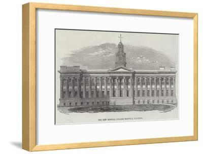 The New Medical College Hospital, Calcutta--Framed Giclee Print