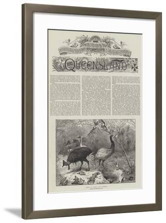 Colonial and Indian Exhibition, Queensland--Framed Giclee Print