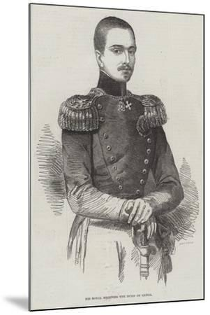 His Royal Highness the Duke of Genoa--Mounted Giclee Print