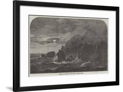 Kullen, at the Entrance of the Sound--Framed Giclee Print