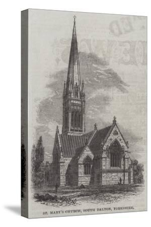 St Mary's Church, South Dalton, Yorkshire--Stretched Canvas Print