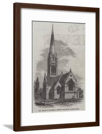 St Mary's Church, South Dalton, Yorkshire--Framed Giclee Print