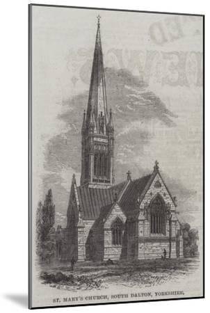 St Mary's Church, South Dalton, Yorkshire--Mounted Giclee Print