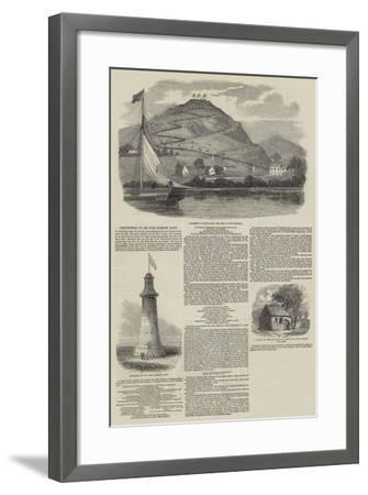 Testimonial to Sir John Barrow, Baronet--Framed Giclee Print