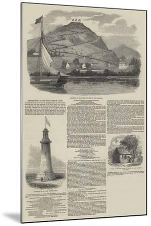 Testimonial to Sir John Barrow, Baronet--Mounted Giclee Print