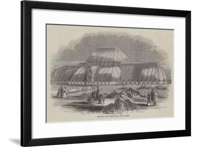 The New Palm Conservatory, Kew Gardens--Framed Giclee Print