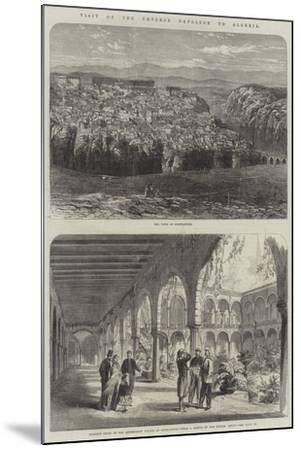 Visit of the Emperor Napoleon to Algeria--Mounted Giclee Print