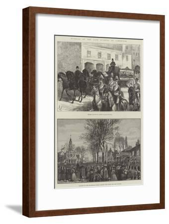 Funeral of the Late Duchess of Cambridge--Framed Giclee Print