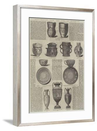 Illustrations from The Life of Wedgwood--Framed Giclee Print
