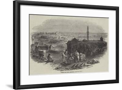 Foreign Corn Ports, Alexandria--Framed Giclee Print