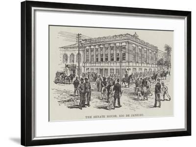 The Senate House, Rio De Janeiro--Framed Giclee Print